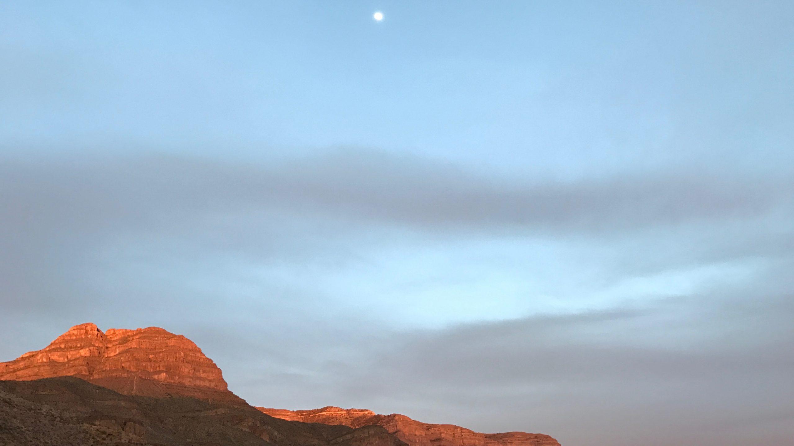 Sacramento Mountains Sunset in New Mexico